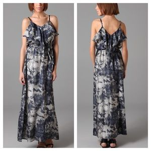 Bird by Juicy Couture Stormy Print Long Maxi Dress